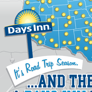 Days Inn Roadtrip Season Promotion