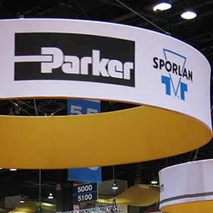 Parker Hannifin Trade Show Booth