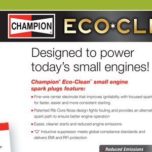 Champion Small Engine Catalog