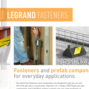 Legrand Fasteners Catalog