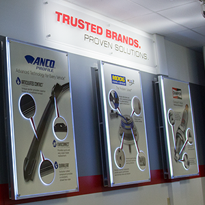 Federal-Mogul Motorparts Corporate Display