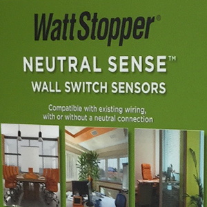 Wattstopper Rotating Display