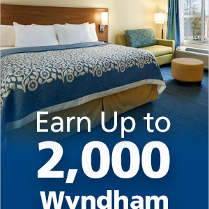 Days Inn Wyndam Points