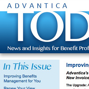 Advantica Email Newsletter